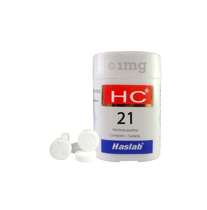 Haslab HC 21 Oenanthe Complex Tablet