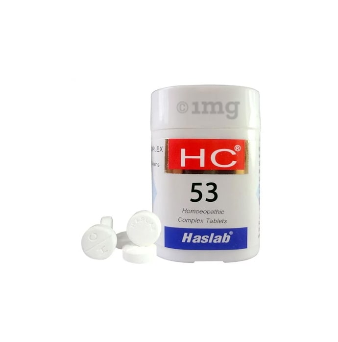 Haslab HC 53 Eosino Complex Tablet