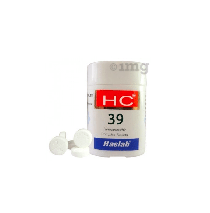 Haslab HC 39 Chinium Sulph Complex Tablet