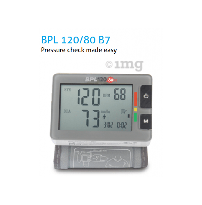 BPL B7 Automatic Wrist Type Blood Pressure Monitor