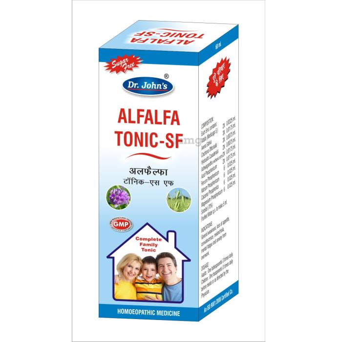 Dr. Johns Alfalfa Tonic-SF Sugar Free