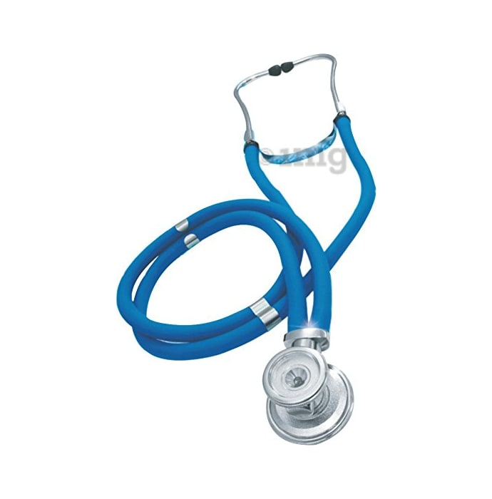 Pulse Wave Rappaport Stethoscope Blue