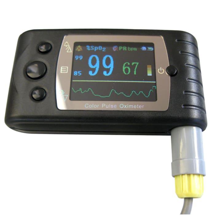 Contec CMS 60C Handheld Pulse Oximeter Black