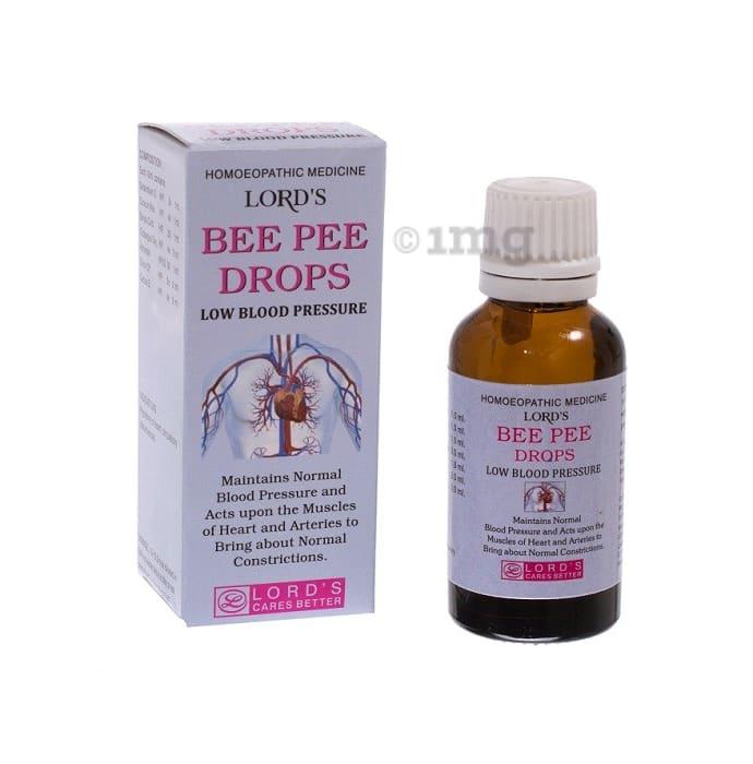 Lords Bee Pee Low Blood Pressure Drop