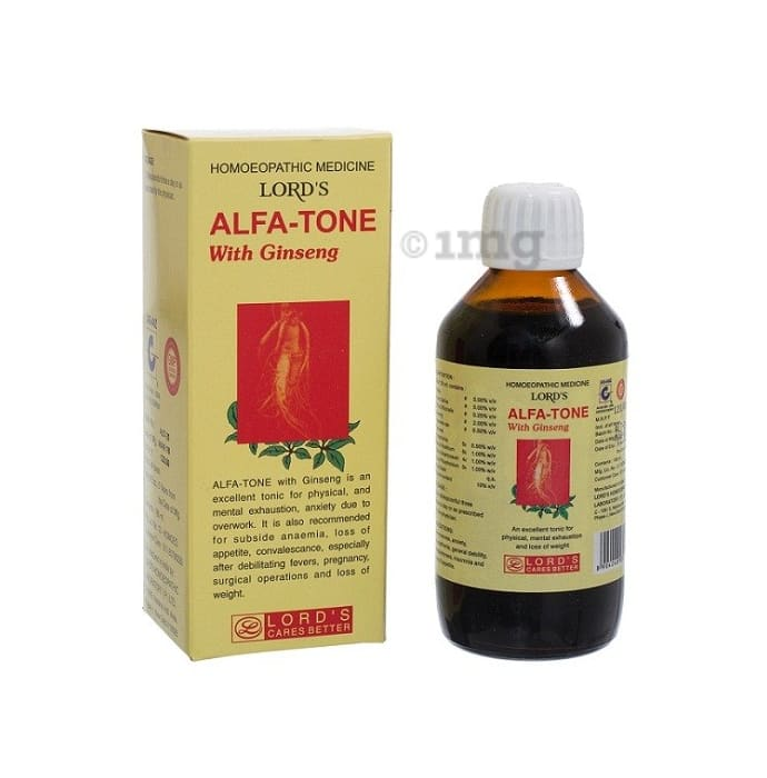 Lords Alfa-Tone With Ginseng Tonic