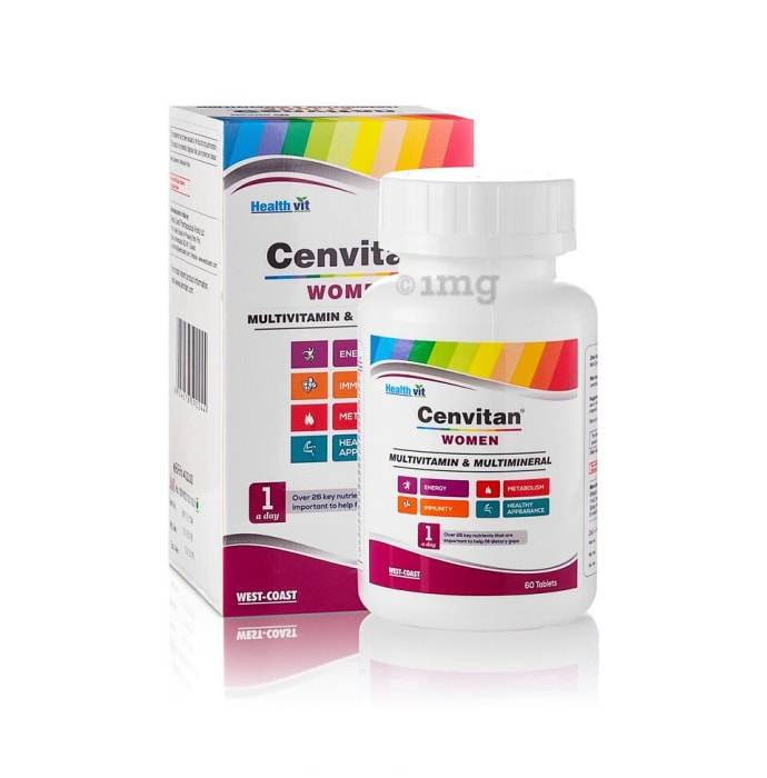 HealthVit Cenvitan Women Multivitamin & Multimineral Tablet