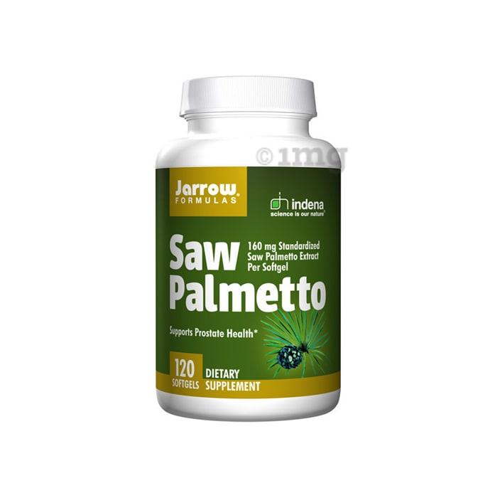 Jarrow Formulas Saw Palmetto 160mg Soft Gelatin Capsule
