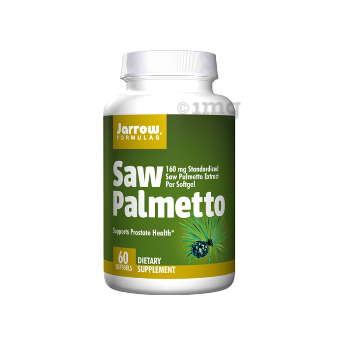 Jarrow Formulas Saw Palmetto 320mg Soft Gelatin Capsule