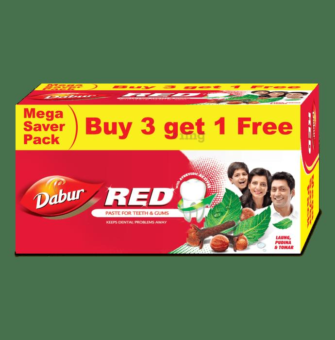 Dabur Red Paste Buy 3 Get 1 Free