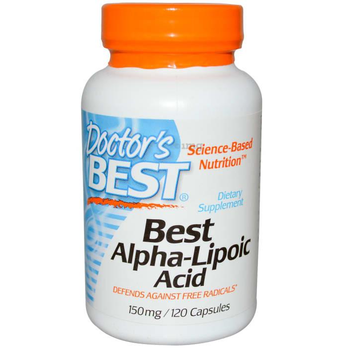 Doctor's Best Alpha Lipoic Acid 150mg Capsule