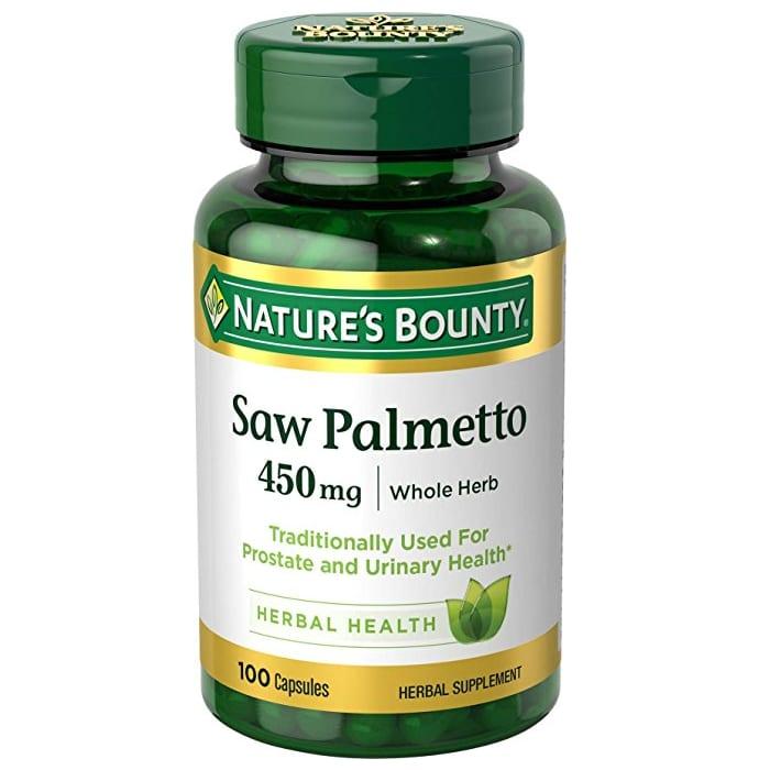 Nature's Bounty Saw Palmetto 450mg Capsule