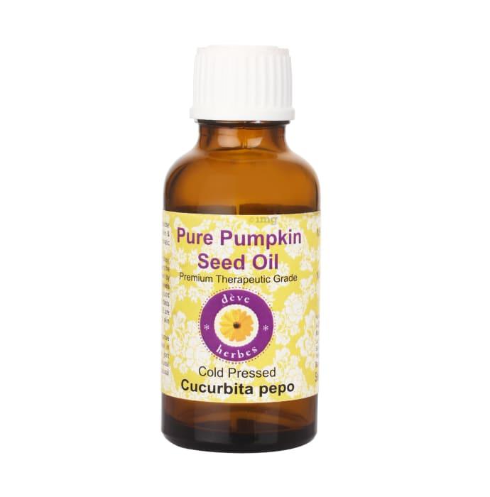 Deve Herbes Pure Pumpkin/Cucurbita pepo Seed Oil