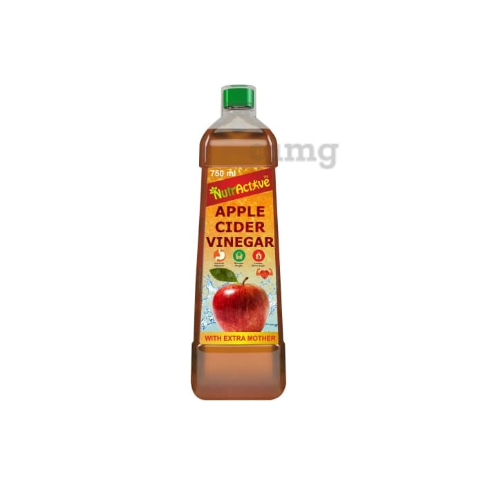 NutrActive Natural Apple Cider Vinegar with Extra Mother
