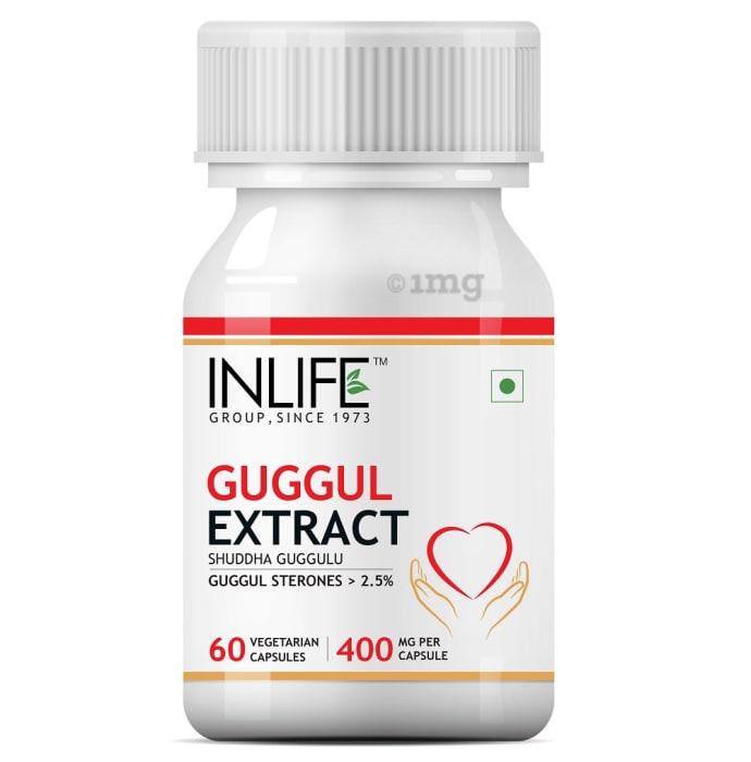 Inlife Guggul Extract 400mg Capsule