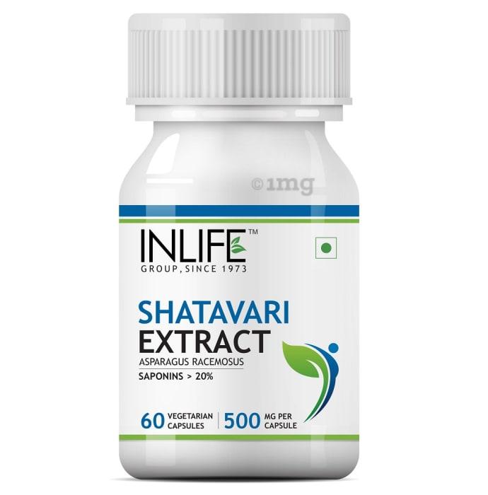 Inlife Shatavari Extract 500mg Capsule
