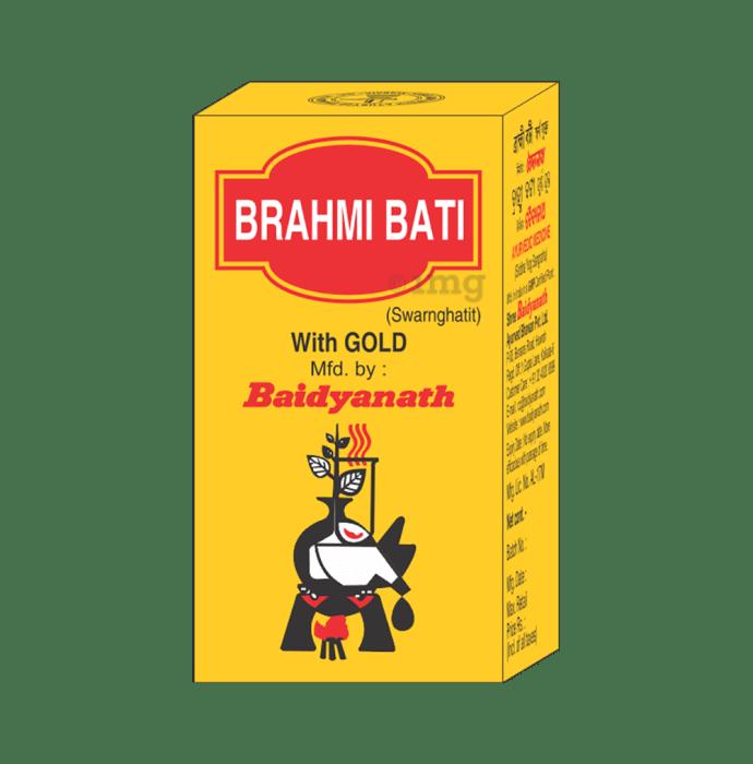 Baidyanath Brahmi Bati with Gold