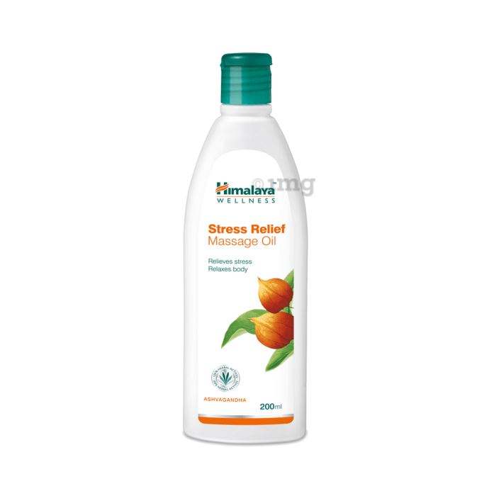 Himalaya Wellness Stress Relief Massage Oil
