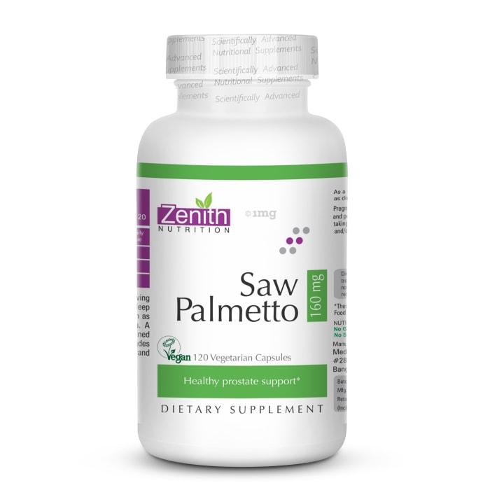 Zenith Nutrition Saw Palmetto  160mg Capsule