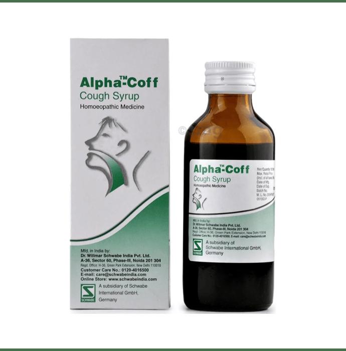 Dr Willmar Schwabe India Alpha-Coff Cough Syrup