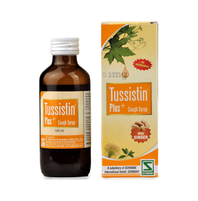 Dr Willmar Schwabe India Tussistin Plus Cough Syrup With Ginger