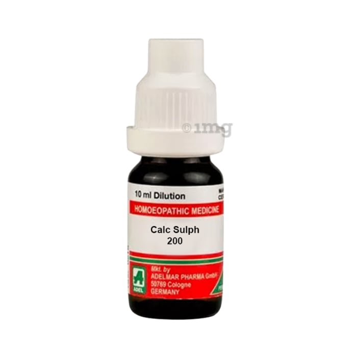 ADEL Calc Sulph Dilution 200 CH