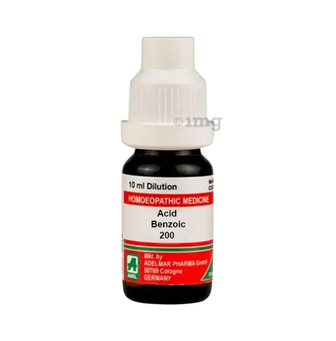 ADEL Acid Benzoic Dilution 200 CH