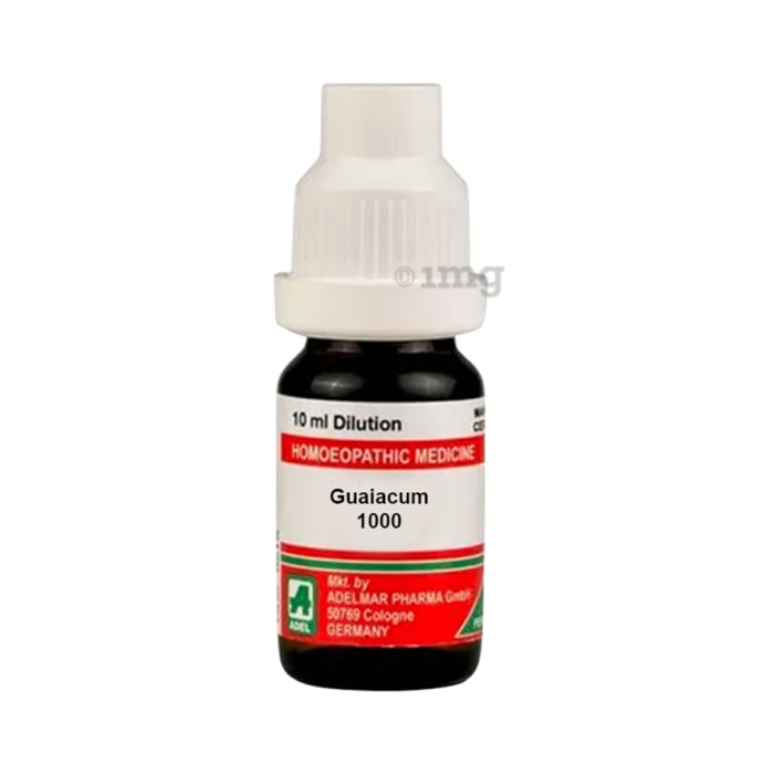 ADEL Guaiacum Dilution 1000 CH