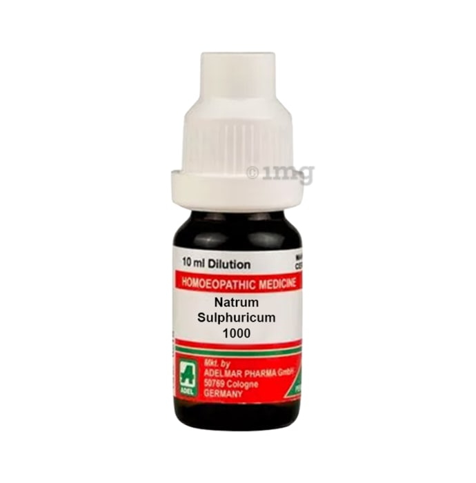 ADEL Natrum Sulphuricum Dilution 1000 CH