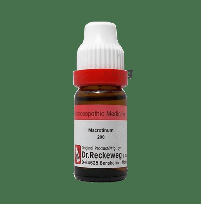 Dr. Reckeweg Macrotinum Dilution 200 CH