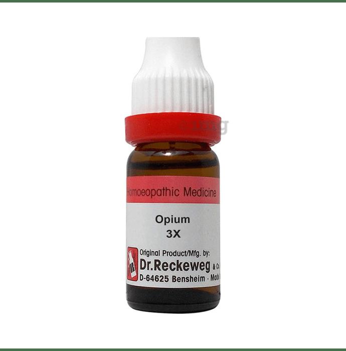 Dr. Reckeweg Opium Dilution 3X