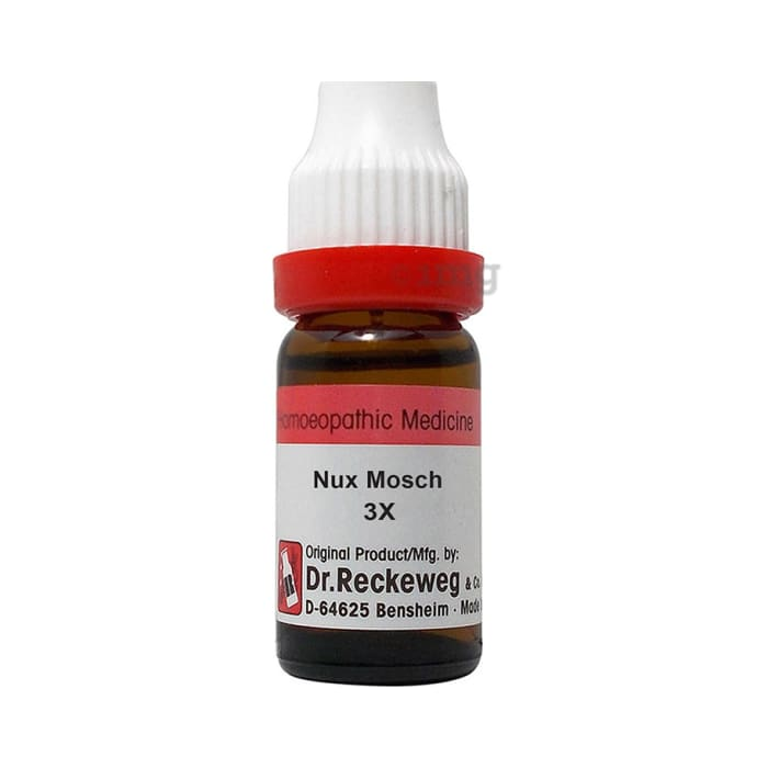 Dr. Reckeweg Nux Mosch Dilution 3X