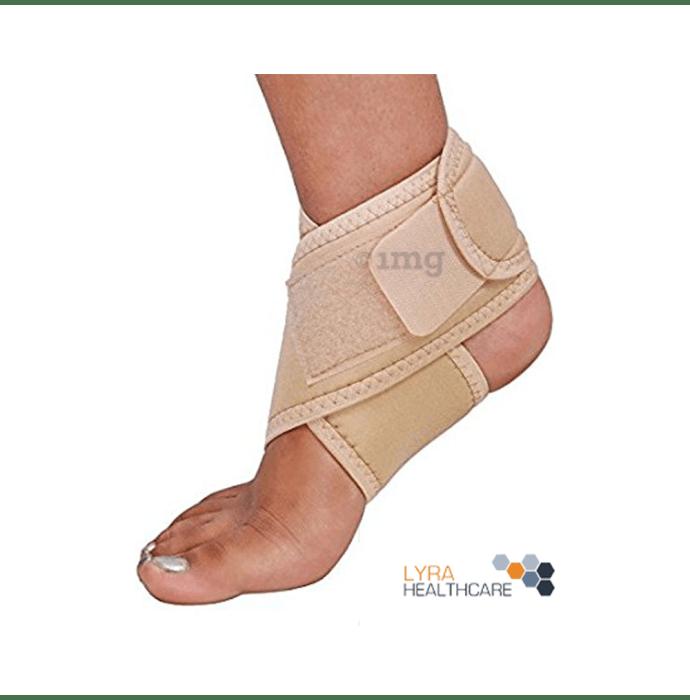 Lyra Healthcare Ankle Binder Band/Ankle Brace Beige