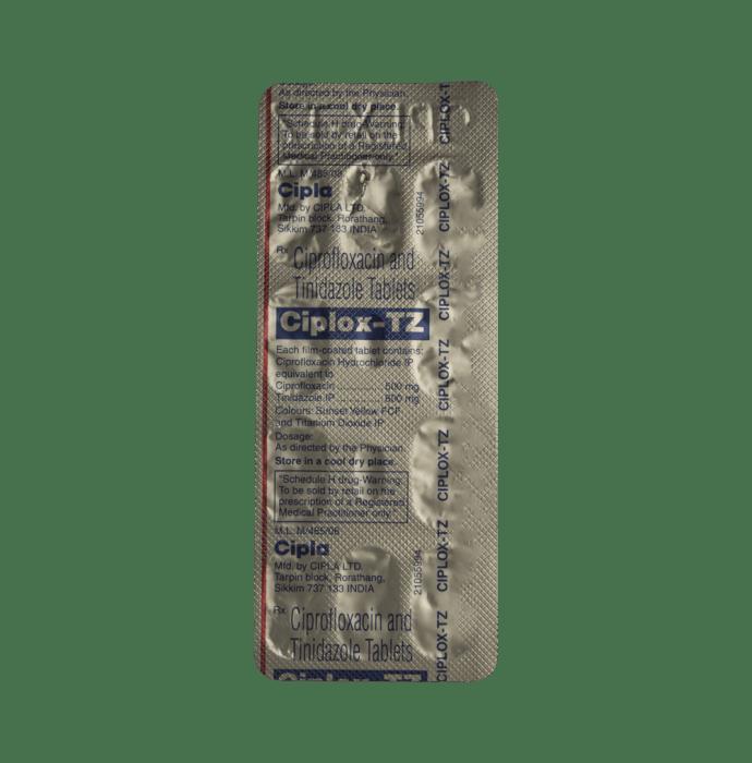 tetracycline zinc