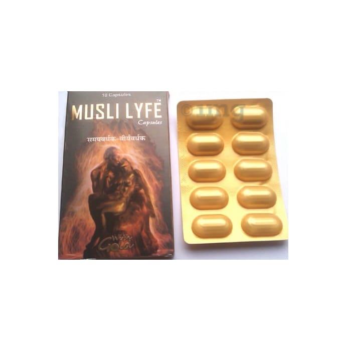 G & G Pharmacy Musli Lyfe Capsule with Gold