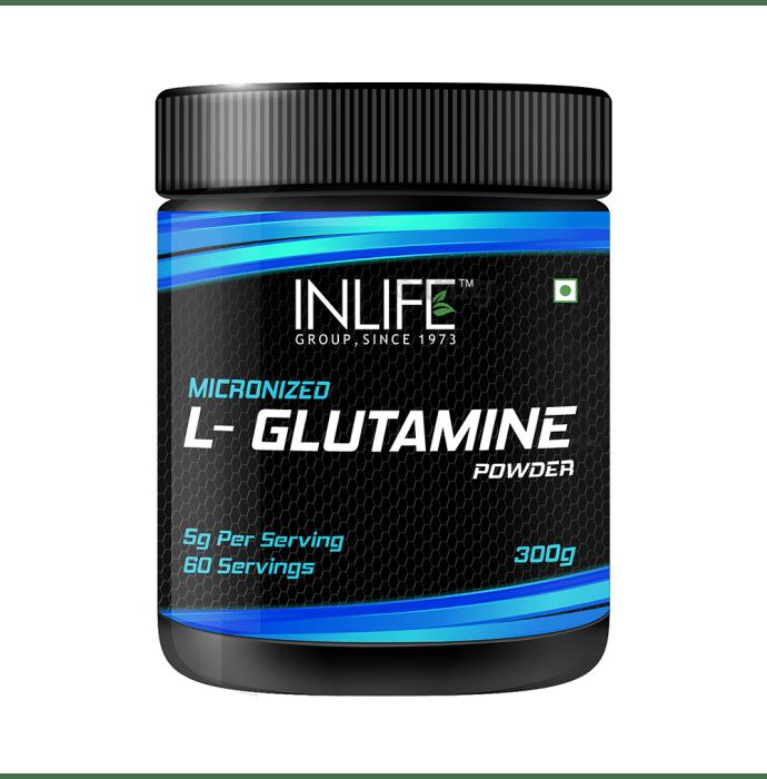 Inlife Micronized L-Glutamine Powder