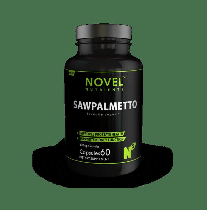 Novel Nutrients Saw Palmetto 400mg Capsule