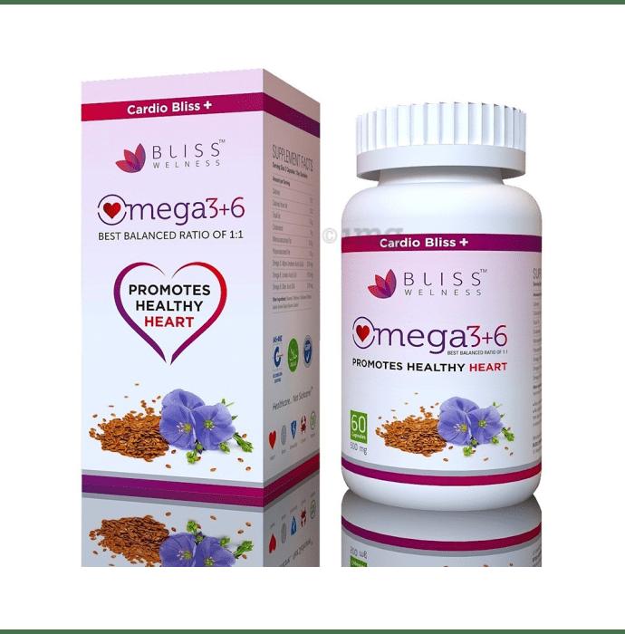 Bliss Welness Cardio Bliss + Omega 3 6 9 Softgel