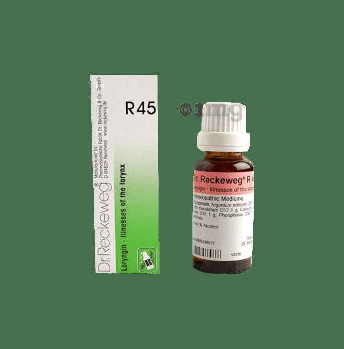 Dr. Reckeweg R45 Illnesses Of The Larynx Drop