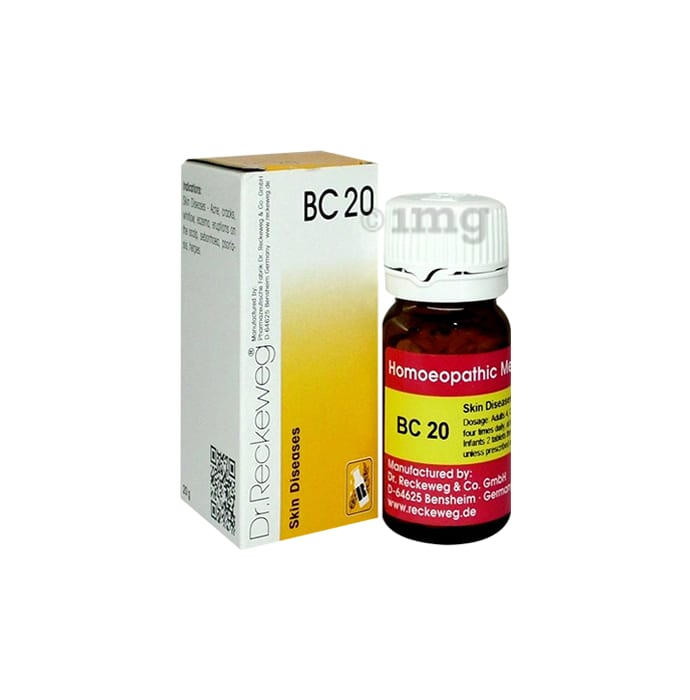 Dr. Reckeweg Bio-Combination 20 (BC 20) Tablet