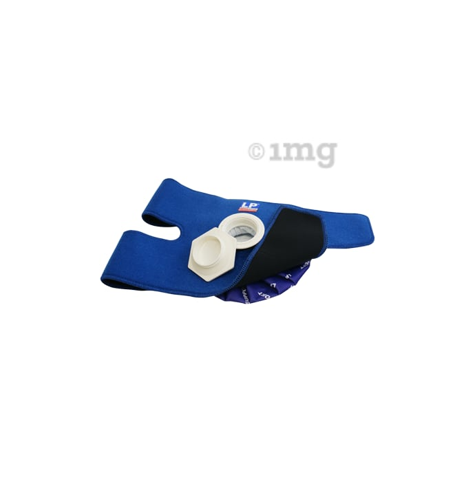 LP 785 Ice Bag with Wrap Blue