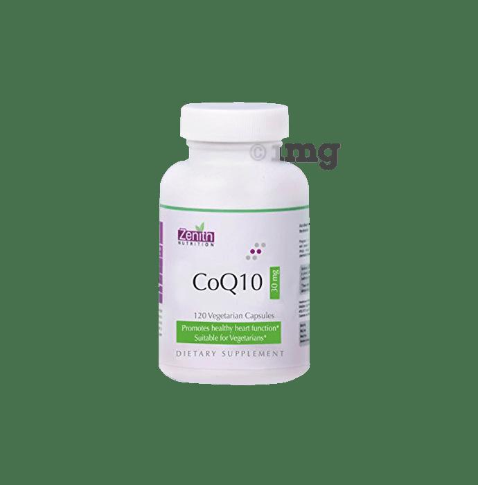 Zenith Nutrition Coq10 30mg Capsule