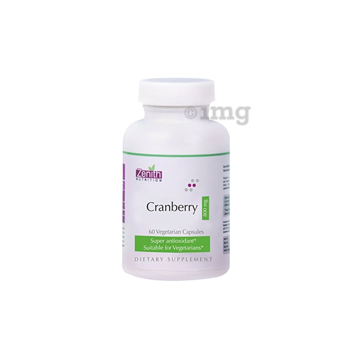 Zenith Nutrition  Cranberry 800mg Capsule