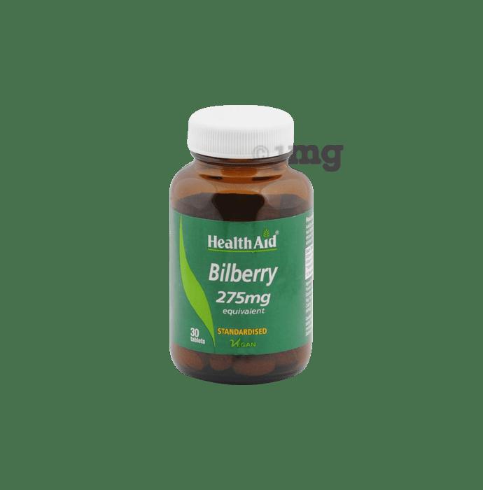 Healthaid Bilberry 275mg Tablet