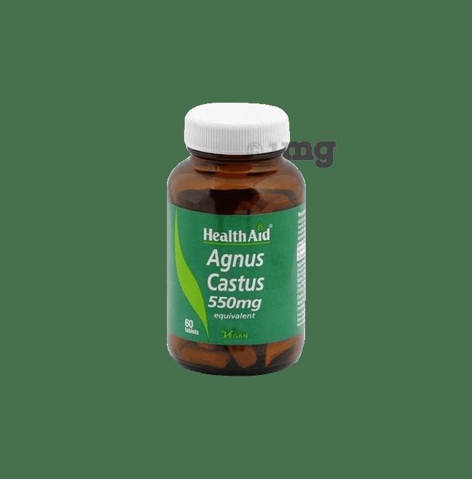 Healthaid Agnus Castus 550mg Tablet