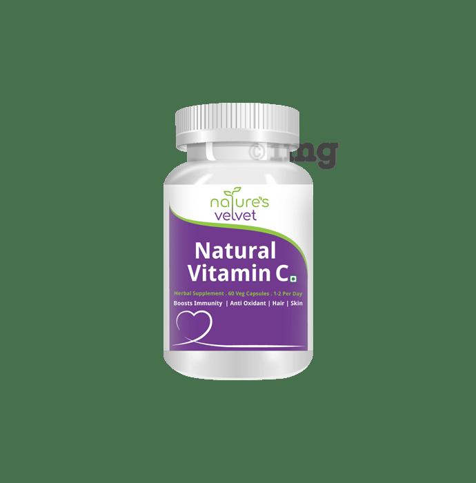 Nature's Velvet Natural Vitamin C 500mg Capsule