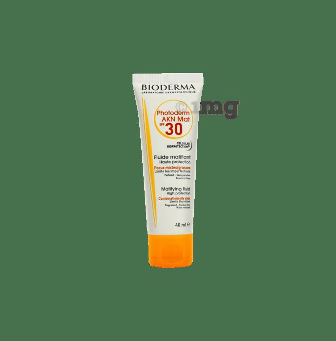 Bioderma photoderm akn mat spf 30: buy 40 ml lotion at