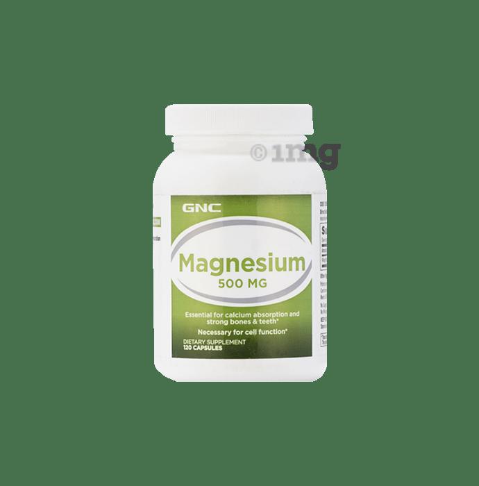 GNC Magnesium 500mg Capsule