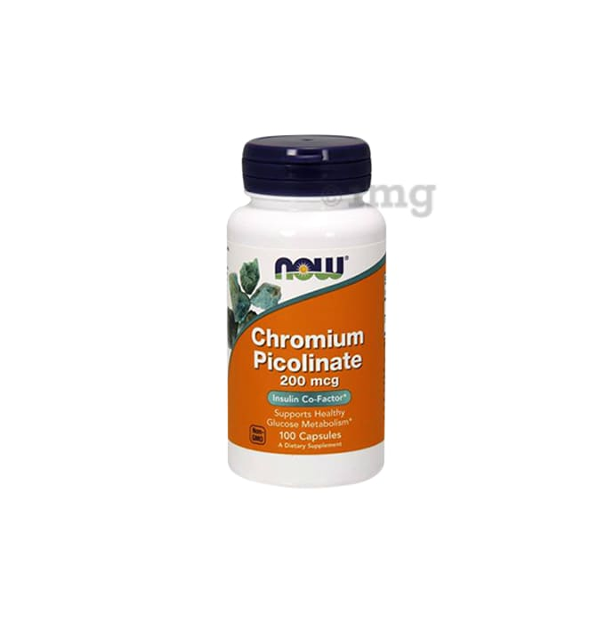 NOW Foods Chromium Picolinate 200mcg Capsule