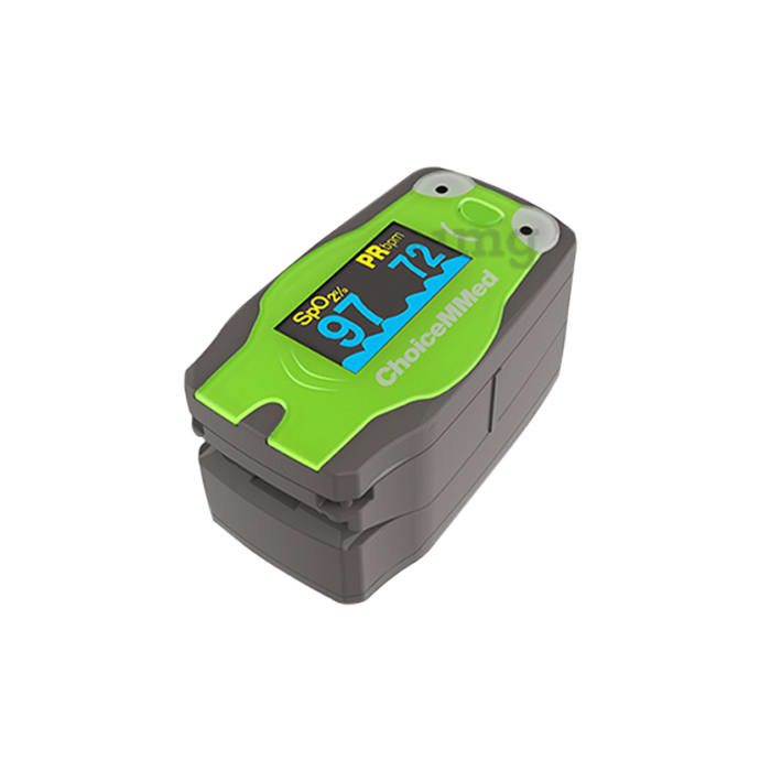 ChoiceMMed MD300C53 Pediatric Fingertip Pulse Oximeter Green