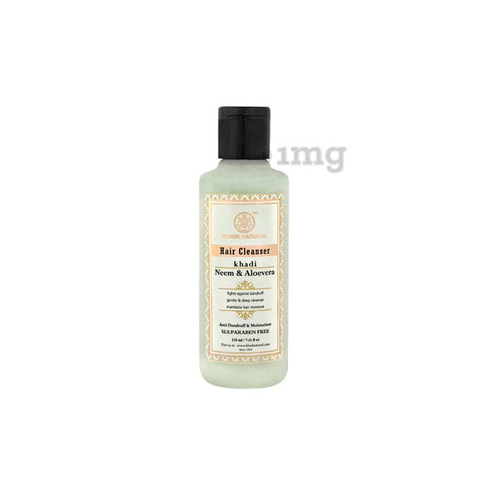 Khadi Naturals Ayurvedic Neem & Aloevera Hair Cleanser